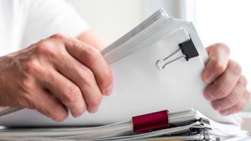 Por quanto tempo guardar documentos da empresa