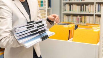 Guardar documentos fiscais